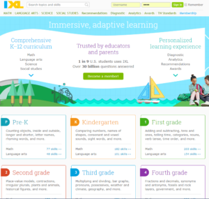 IXL, A Learning Tool